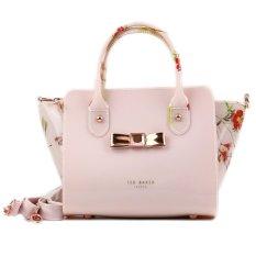 Classic Ted Baker Women's Handbag PU Waterproof Shoulder Bag(pink)