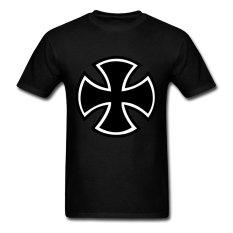 CONLEGO Creative Men's Iron Cross T-Shirts Black