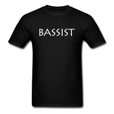 CONLEGO Personalize Men's The Bassist T-Shirts Black