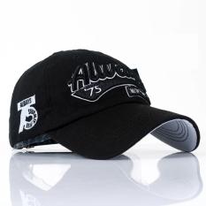 CONLEGO The Men's Baseball Cap Hat Hip-hop Summer Sun Cap In Spring And Autumn Sun Peaked Cap Black