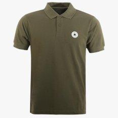 Converse Men's Polo Shirt - Hijau