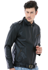 Crows Denim - Jaket Bikers Style The Front Of Armament 5th