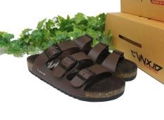 CVNX.ID - Sandal Pria CVNX.ID G3C (Coklat)