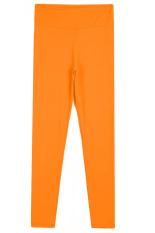 Sunweb Candy Color Women Fitness Sport Training Running Pants (Orange)