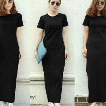 Davecollection Dress Elsa Maxi - Black