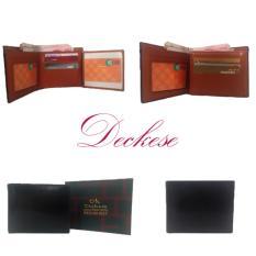 Deckese Dompet Kulit Men Wallet K605A Hitam