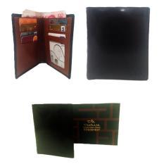 Deckese Dompet Kulit Men Wallet K622B Hitam