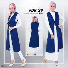DeKaCo Tunic Vest DK024 Navy