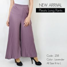 De'Links Plisket Long Pants - BCPJ18100 (Purple)