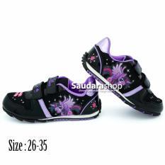 Disney LITTLE PONY / Sepatu Anak Little Pony [26-35] Hitam Ungu / Sepatu Anak TK