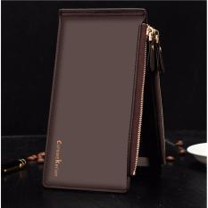 Dompet IMPOR Mens Fashion Curewe Kerien #2303 Card Holder Kartu Bisnis Wallet - BROWN
