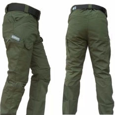 DOZN Celana Panjang Blackhawk Tactical outdoor green hijau