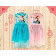 Dress Baby Girl Bayi Perempuan Baju Anak Frozen 3 Tahun s/d 7 Tahun