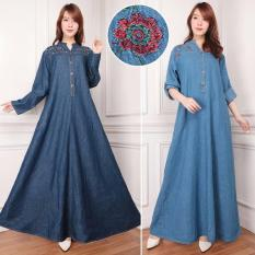 ... Long Skirt Biru Tua 02 Daftar Source · 168 Collection Dress Celine Overall Jeans Biru Tua Daftar Update Source Dress jeans maxi panjang