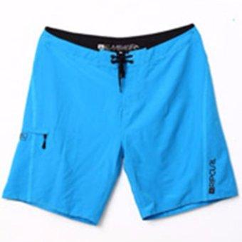 Edberth Shop Celana Pantai Pria – Blue