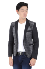 Elfs Shop-Jas Fashion Pria Zr Wool 380-Hitam