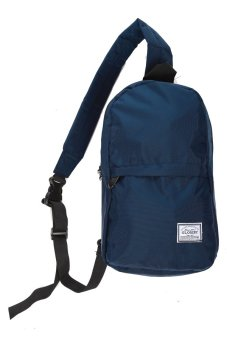 Elfs Shop - Tas Slempang Simple 230 - Biru Dongker