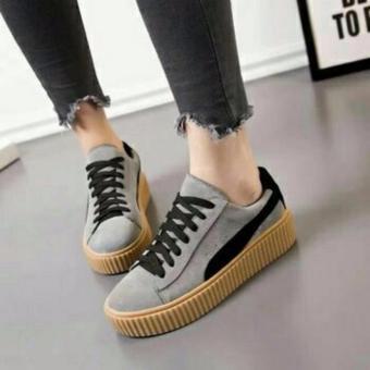 Ellen Grosir - Fashion Sneakers PM Rihanna [Abu]