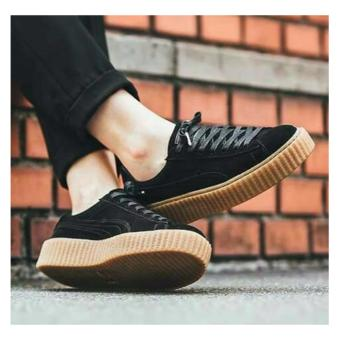 Ellen Grosir - Fashion Sneakers PM Rihanna [Hitam]