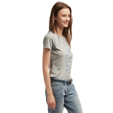 Esprit T-Shirts Short Sleeve - Gunmetal
