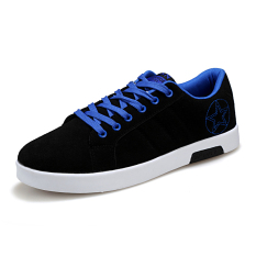 ESSAN Mens Fashion Casual Sneakers Shoes (Black With Blue) (Intl)