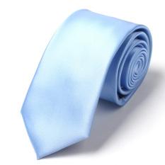 Evanhome 2016 New Arrivals Fashion Neckties 7CM Slim Ties For Men Blue Mens Ties Slim Necktie Wedding Ties Gift Box Free Delivery L7010 (Blue)