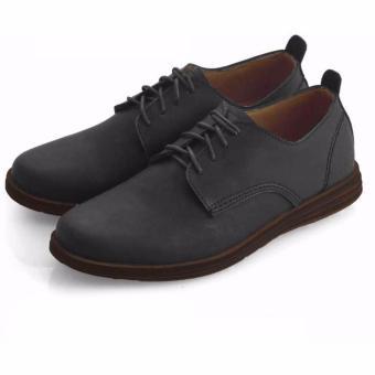 Everflow Men s Casual Synthetic Shoes UJ 02 - Sepatu Casual Pria - Black 9b0e8b1f0a
