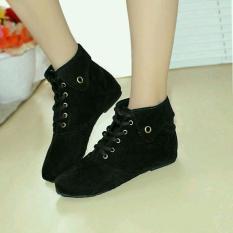 Fasahaya Sepatu Boots Wanita SBT01 Hitam