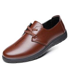 Fashion Men 's Shoes Business Casual Shoes Formal Shoes Leather Shoes 30