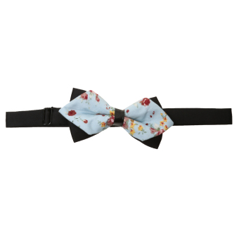 Fashion Men Wedding Bowtie Novelty Tuxedo Necktie Bow Tie Adjustable 4 - Intl