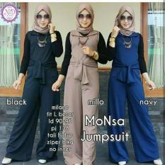 Fashion Wanita/ Baju Muslim Wanita / Monsa Jumpsuit