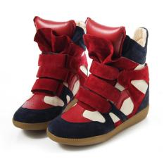 Fashion Women Casual Height Increasing Sneakers