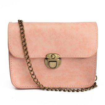 Fashion Women Leather Chain Shoulder Messenger Crossbody Bag Satchel Handbag HOT Pink