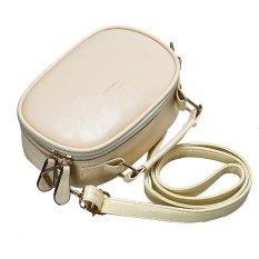 Fashion Women Vintage Messenger Bags Leather Handbags Shoulder Bag White