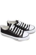 Faster Sepatu Kanvas 1601-24 - Hitam