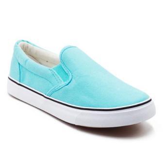 Faster Sepatu Sneakers Kanvas Wanita 1603-06 -Tosca-Putih