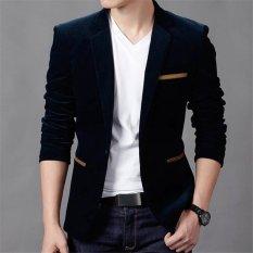 Fesyen Zone Blazer Brownstone - Hitam
