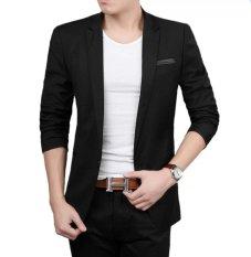 Fesyen Zone Blazer Thunder Black - Hitam
