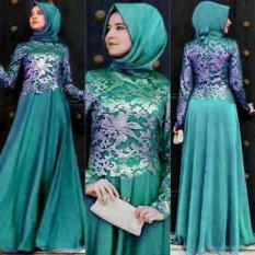 Gamis Pesta Wanita/Gamis Terbaru/Baju Muslimah