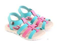 Garsel L272 Sandal Casual Anak Perempuan - Synth - Keren (Hijau Kom)