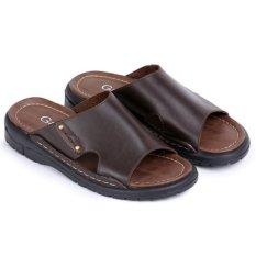Garsel Sandal Pria Garsel E208 - Cokelat