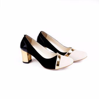 Garucci Sepatu Hills Wanita 032 - Hitam COMBO