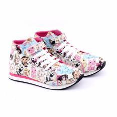 Garucci Sepatu Sneaker Anak Perempuan - Bahan Canvas - GJJ 9093