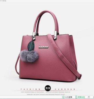 Genevieve DC1726 Pink - Tas Fashion Classic Tote - New Model