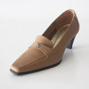 Genuine Leather Heels Formal Shoes