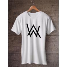 Gildan Alan Walker EDM White T Shirt