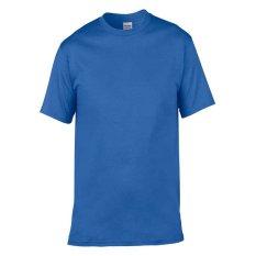 Gildan Softstyle 63000 Kaos Polos - Biru