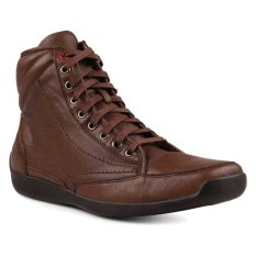 Gino Mariani Elario 2 Leather- Coklat Tua