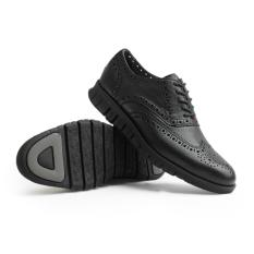 Gino Mariani Men's Shoes Leather Zenon - Hitam