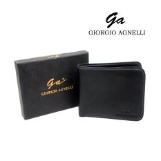 Giorgio Agnelli - Dompet Kulit Pria - Kulit Asli - GA NPN 9203 Black / Hitam